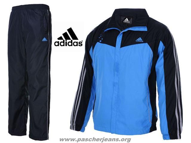 adidas jogging coton,Adidas Survetement Coton Bleu et Orange